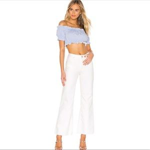 Free People High Rise Straight Flare Jeans NWT